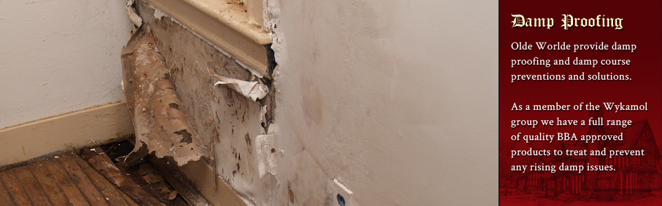 Damp proofing services throughout Aylesbury